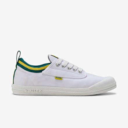 Volley International Low White/Green/Gold