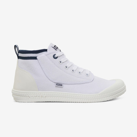 Volley Heritage High White/Navy