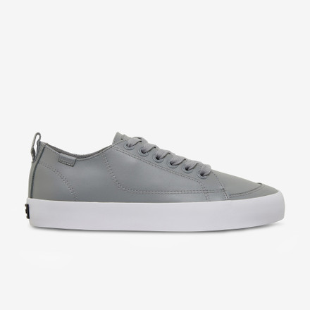 Volley Deuce Leather Low Grey Leather