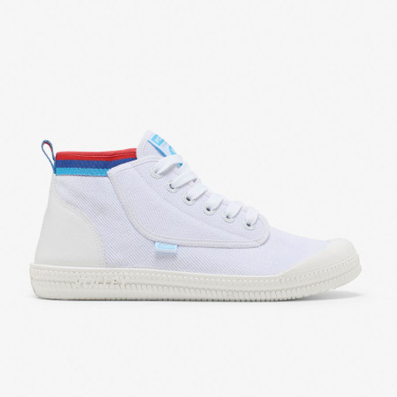 Volley Heritage High  White/Melon/Blue