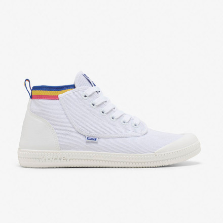 Volley Heritage High White/Blue/Yellow