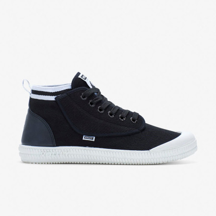 Volley Heritage High Black/White