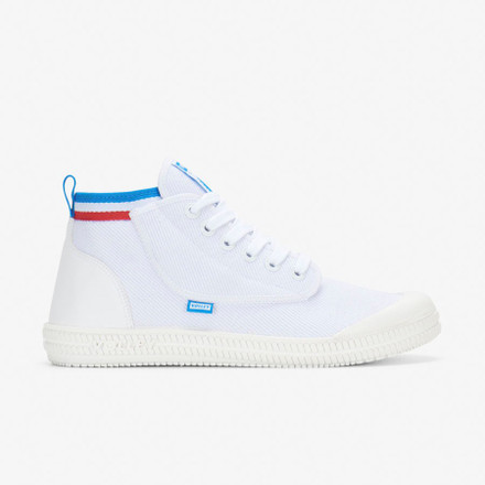 Volley Heritage High White/Red/Blue