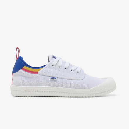 Volley Heritage Low White/Blue/Yellow
