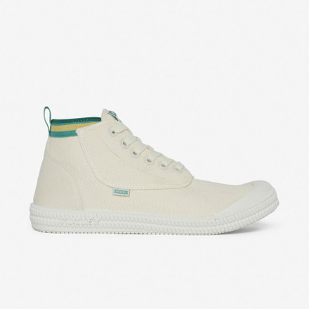 Volley Heritage High Vintage White/Green/Gold