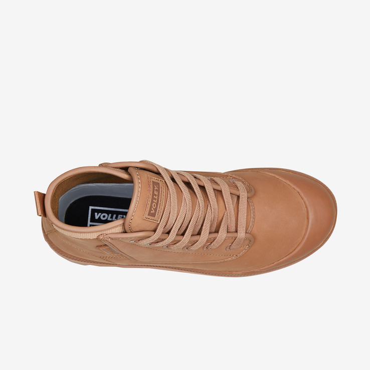 Volley UnisexAdultOvergrip Leather Tan Leather   5