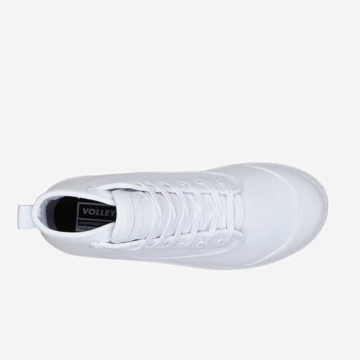 Volley UnisexAdultOVERGRIP LEATHER White   5