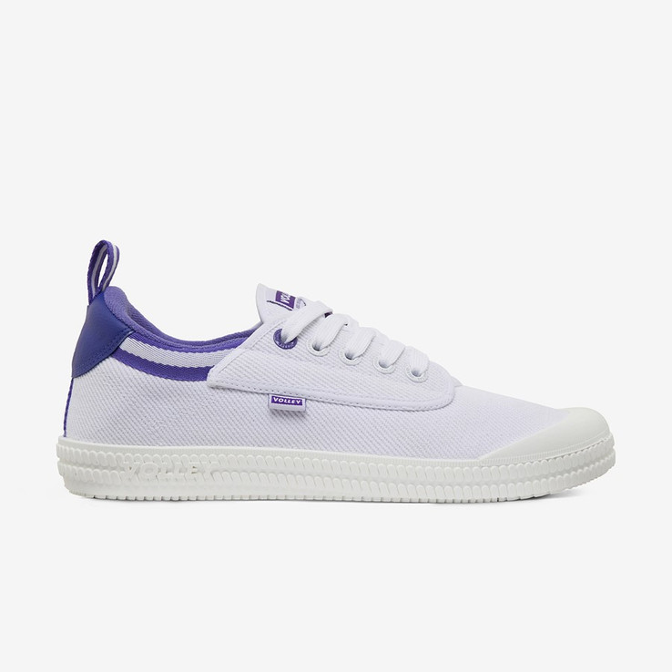 Volley UnisexAdultHeritage Low White/Purple   0