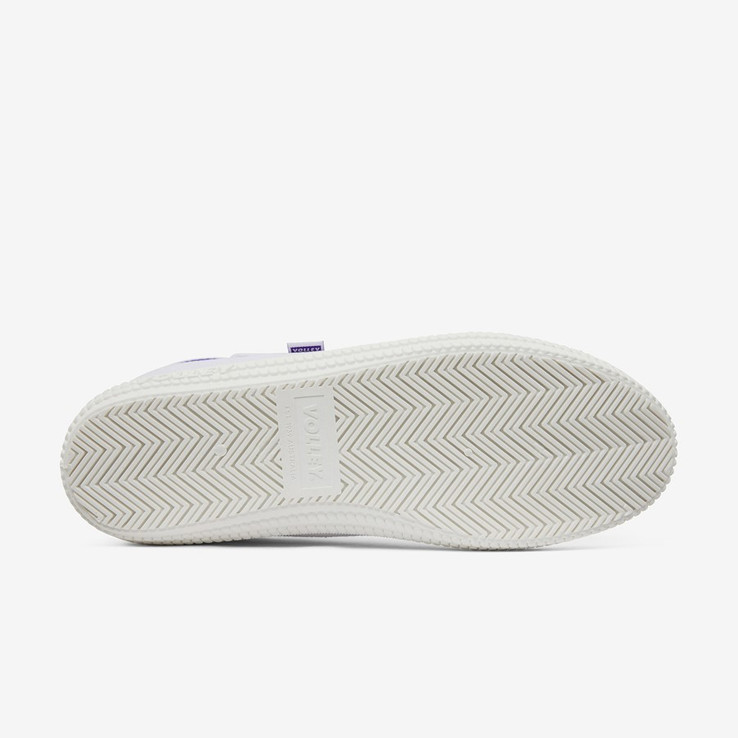 Volley UnisexAdultHeritage Low White/Purple   3