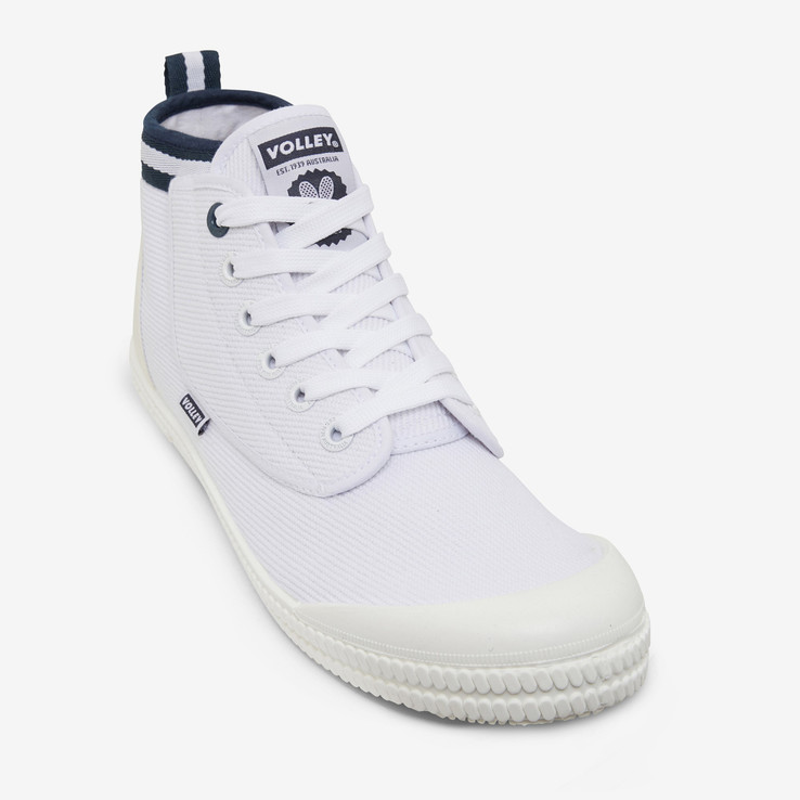 Volley UNISEXADULT White Heritage High  4