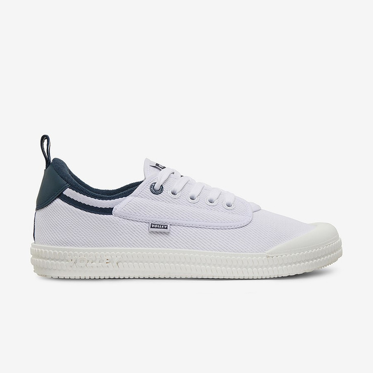 Volley UnisexAdultHeritage Low White/Navy   0
