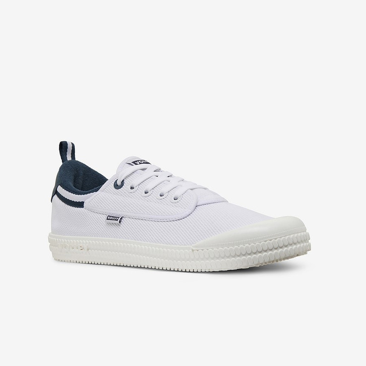 Volley UnisexAdultHeritage Low White/Navy   2