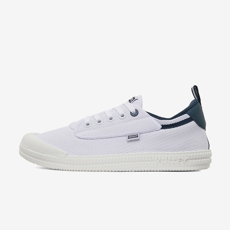 Volley UnisexAdultHeritage Low White/Navy   6