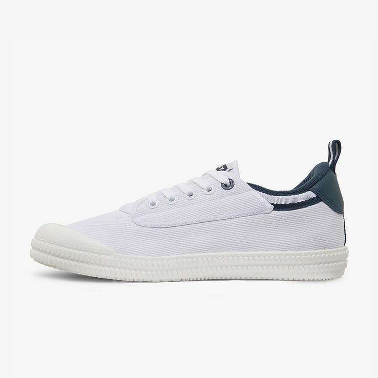 Volley UnisexAdultHeritage Low White/Navy   7
