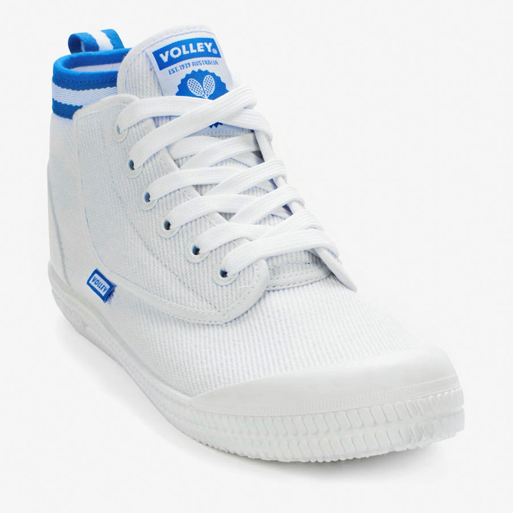 Volley UnisexAdultHERITAGE HIGH White   4