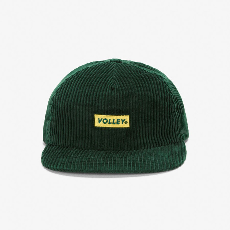 Volley NON Green Corduroy Hat  1