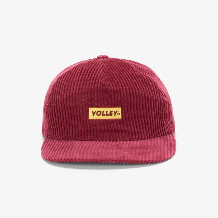 Volley NON Red Corduroy Hat  1