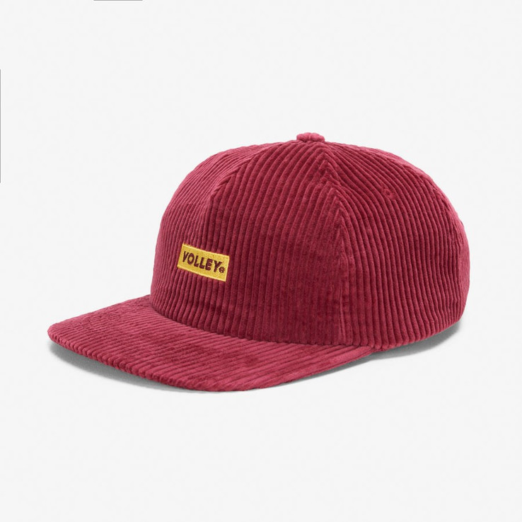 Volley NON Red Corduroy Hat  2