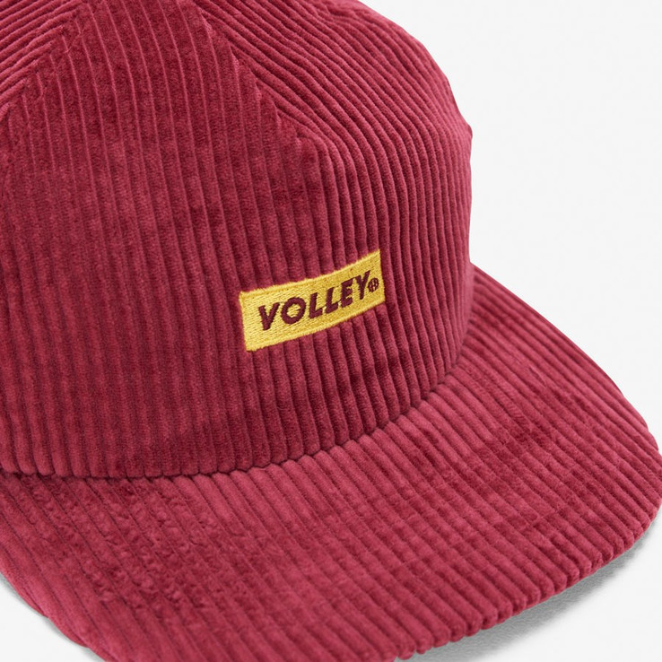 Volley NON Red Corduroy Hat  4