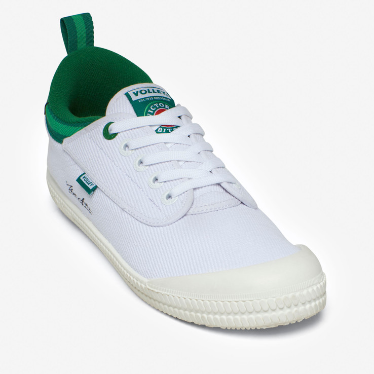 Volley UnisexAdult White VB x Volley Heritage Low  4