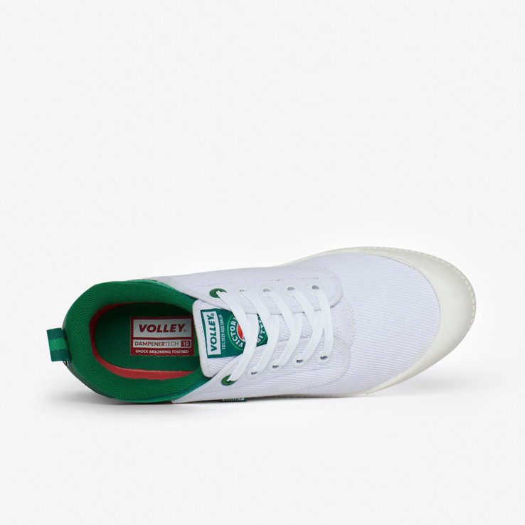 Volley UnisexAdult White VB x Volley Heritage Low  5