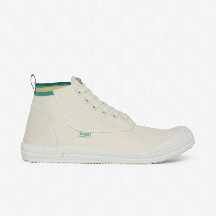Volley UnisexAdultHeritage High Vintage White/Green/Gold   0