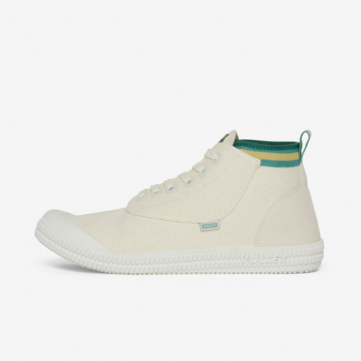 Volley UnisexAdultHeritage High Vintage White/Green/Gold   6
