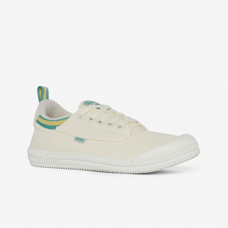 Volley UnisexAdultHeritage Low Vintage White/Green/Gold   2