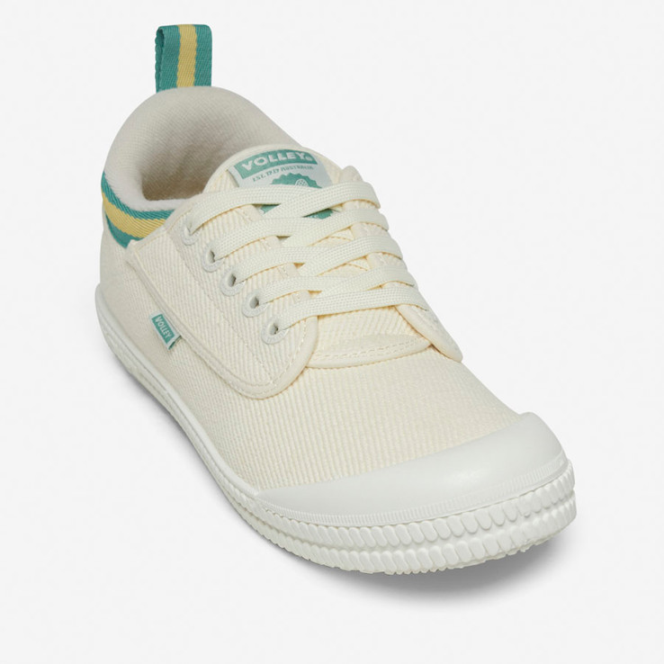 Volley UnisexAdultHeritage Low Vintage White/Green/Gold   4