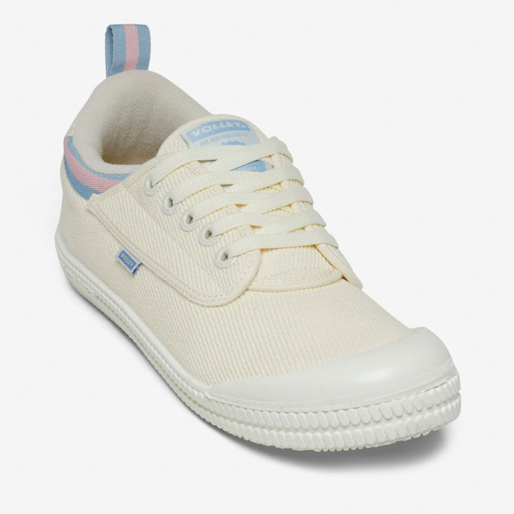 Volley UnisexAdultHeritage Low Vintage White/Blue/Rose   4