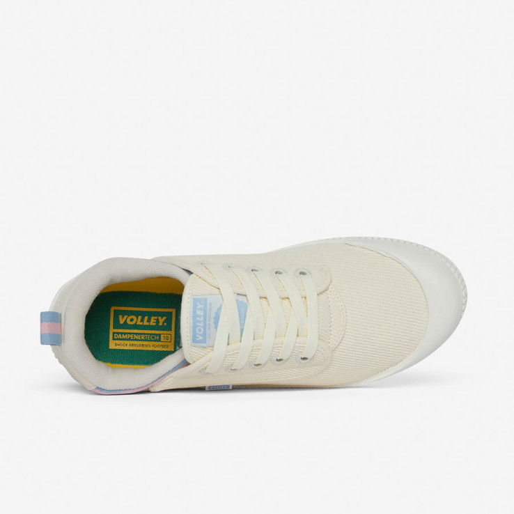 Volley UnisexAdultHeritage Low Vintage White/Blue/Rose   5