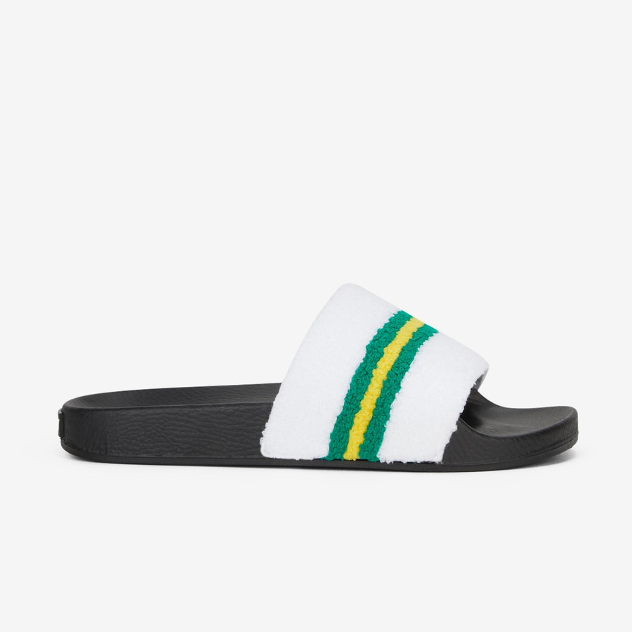 Volley Go For Gold Pool Slide White/Green/Gold