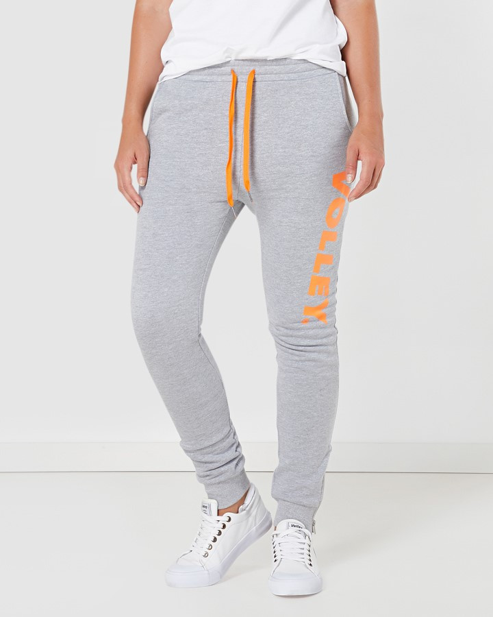 cbbbb44dba11 Volley Volley Classic Track Pant Grey Marle
