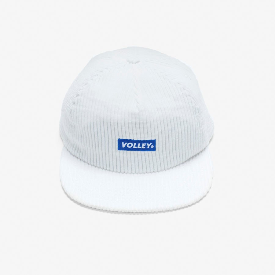 Volley Corduroy Hat Vintage White