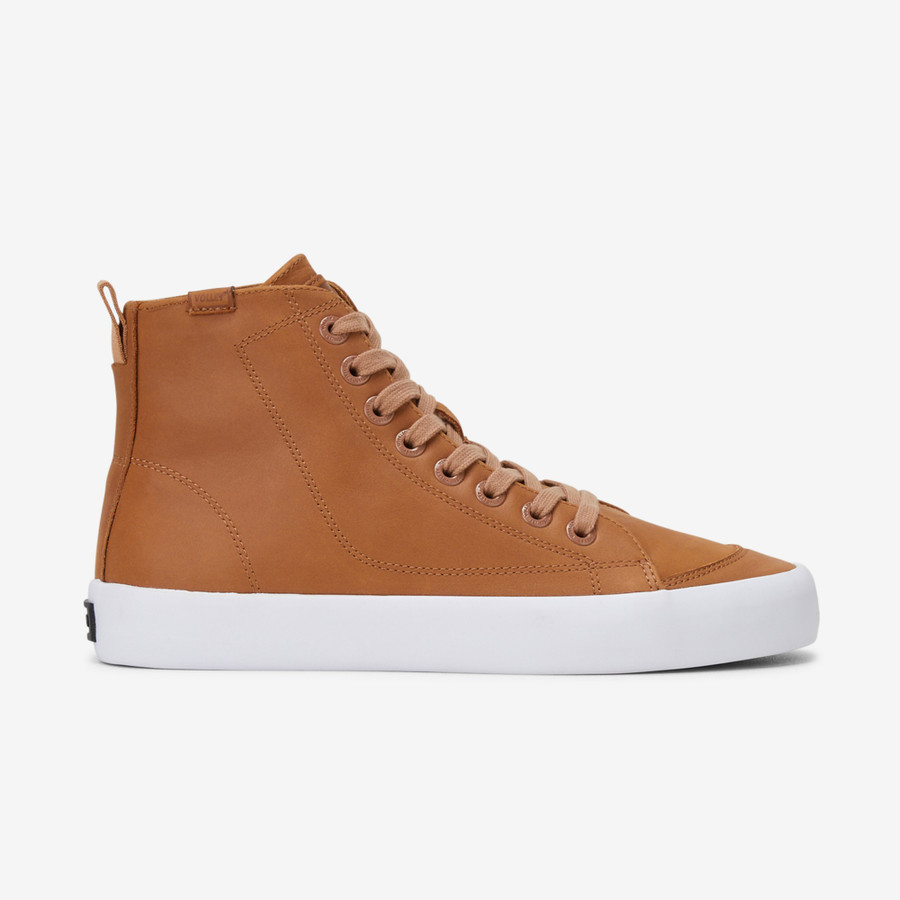 Volley Deuce Leather High Tan Leather