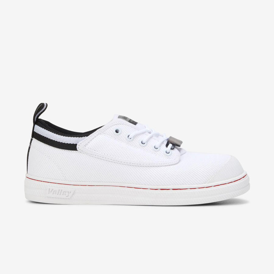 Volley Safety Canvas White/Black