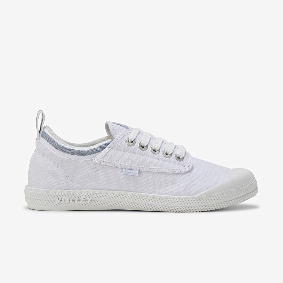 Volley International Low White/Light Grey
