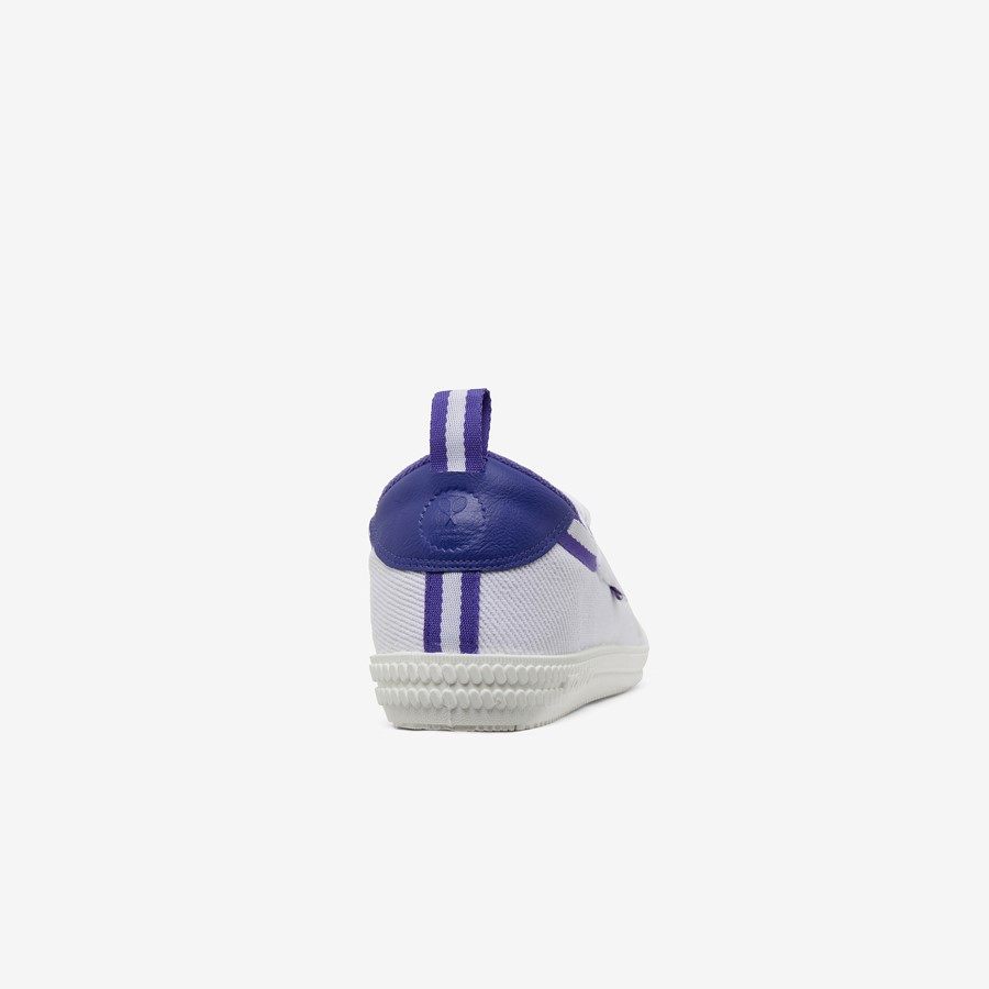 Volley Heritage Low White/Purple