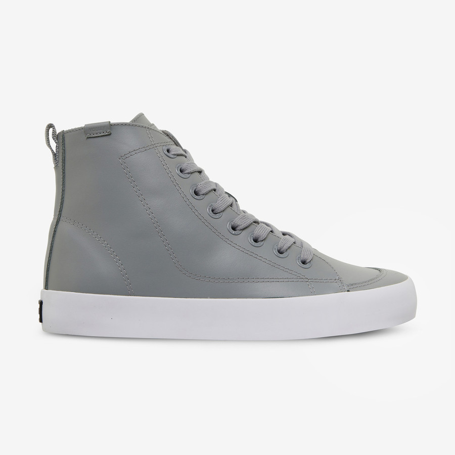 Volley Deuce Leather High Grey Leather