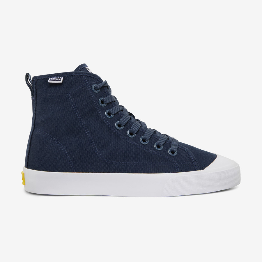 Volley Deuce High Navy/White