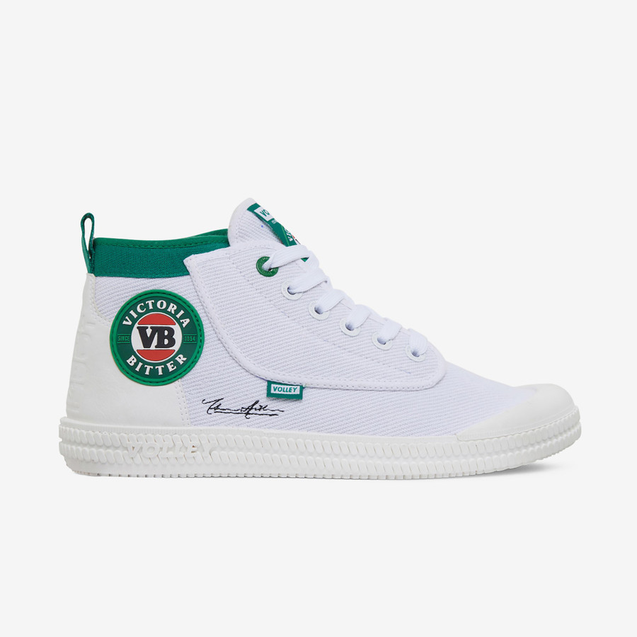 Volley VB X Volley Heritage High White/Green/Red