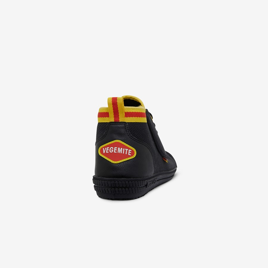 Volley Vegemite Heritage High Black