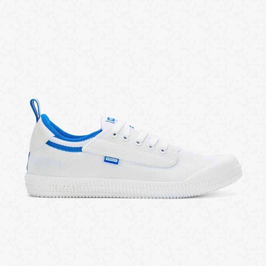 Volley Heritage Low White/Blue