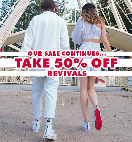 50% off revivals