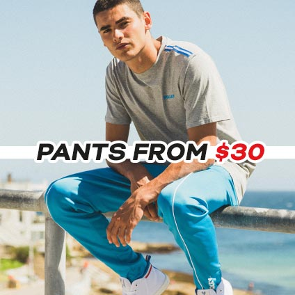 Pants from $30