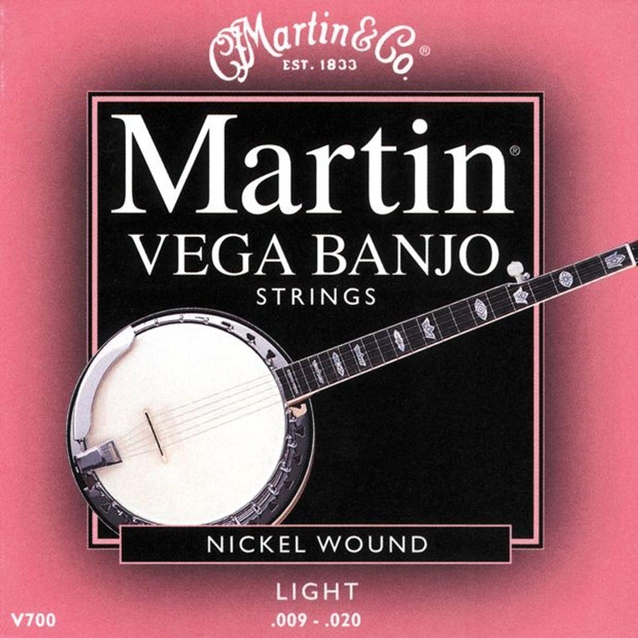 Martin Vega Banjo Strings - Light