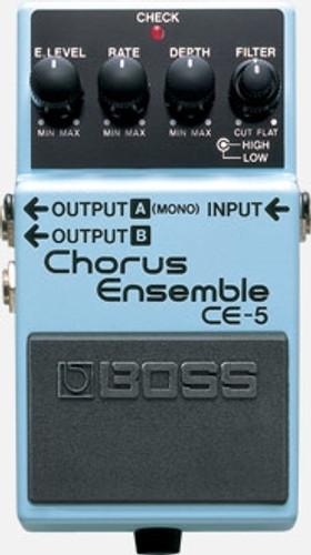 BOSS CE-5 Stereo Chorus Ensemble Effect Pedal