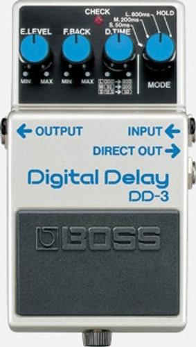 BOSS DD-3 Digital Delay Pedal