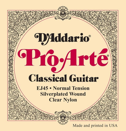 D'Addario Pro-Arte' Classical Guitar Strings - Normal Tension