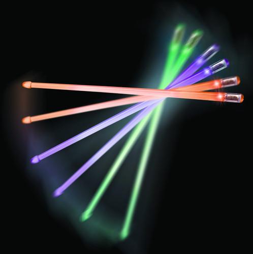 Grover Firestix Light-Up Drum Sticks